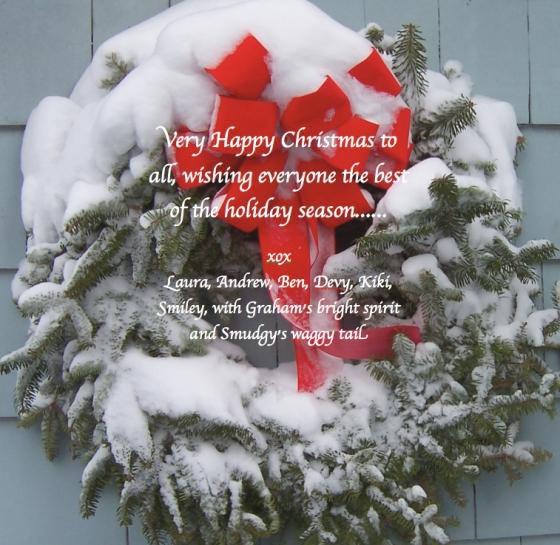 christmas wreath 2012A