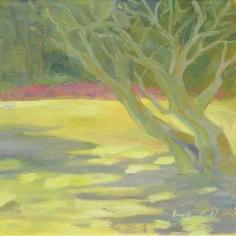 """Sun Shadows - 6""""x6"""" - Oil on canvas - $50.00"""