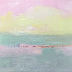 """Cape March 2 - oil on canvas - 6""""x6"""" - $50.00"""